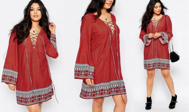 robe boohoo grande taille
