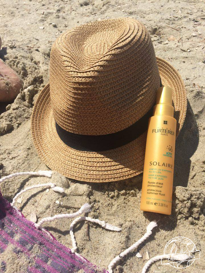 routine solaire peau claire